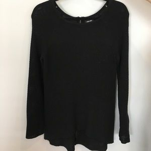Nicole Miller Black Sweater